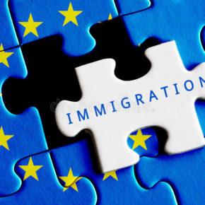 european-union-crisis-immigration-text-missing-puzzle-58598729